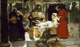 Albert von Keller: Die Auferweckung der Tochter des Jairus