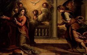 Palma il Giovane eigentlich Negretti Jacopo: Verkündigung Mariae