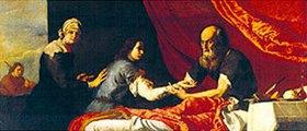 Jusepe de Ribera: Isaac und Jakob