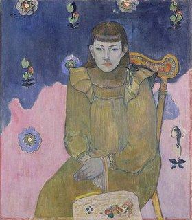 Paul Gauguin: Portrait eines jungen Mädchen (Vaite Goupil)