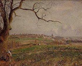 Camille Pissarro: Vue de Pontoise