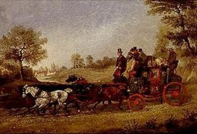 Henry Alken d.Ä.: Die Postkutsche London-Dover unterwegs
