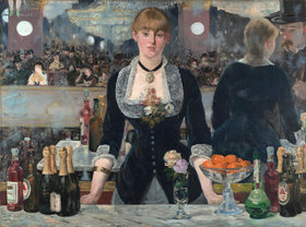 Edouard Manet: Bar in den Folies-Bergère