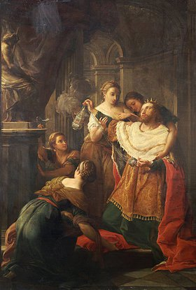 Pompeo Girolamo Batoni: Solomon verehrt die fremden Götter