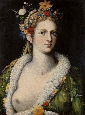Giuseppe Arcimboldo: Flora Meretrix