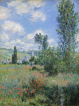 Claude Monet: Ansicht von Vétheuil