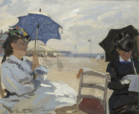Claude Monet: Am Strand von Trouville
