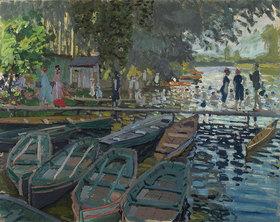 Claude Monet: Badende bei La Grenouillère