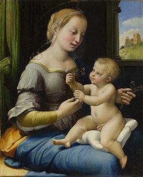 Raffael (Raffaello Sanzio): Die Madonna mit den Nelken