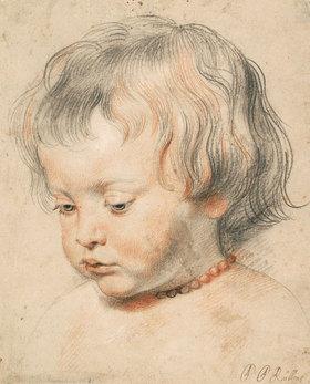 Peter Paul Rubens: Nikolaus Rubens mit Korallenschnur