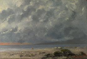 Gustave Courbet: Strandszene