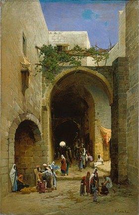 Hermann David Salomon Corrodi: Ägyptische Straßenszene