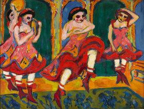 Ernst Ludwig Kirchner: Czardastänzerinnen
