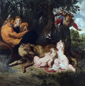 Peter Paul Rubens: Die Auffindung von Romulus und Remus