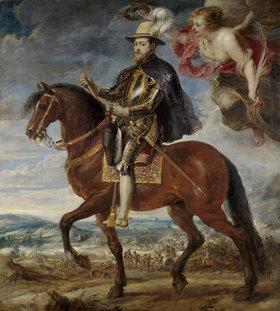 Peter Paul Rubens: König Philipp II. von Spanien (1527-1598) zu Pferde
