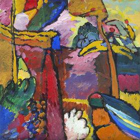 Wassily Kandinsky: Studie für Improvisation V
