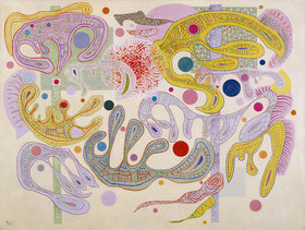 Wassily Kandinsky: Launische Formen (Formes capricieuses)