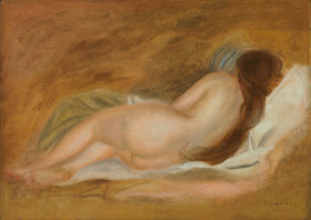 Auguste Renoir: Schlafender Akt von hinten