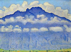 Ferdinand Hodler: Die Schynige Platte (Landschaft im Berner Oberland)