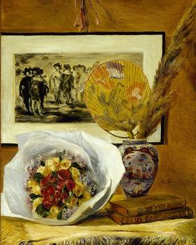 Auguste Renoir: Stillleben mit Blumenstrauß