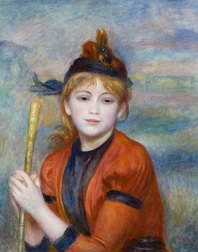 Auguste Renoir: L'Excursionniste (Die Spaziergängerin)