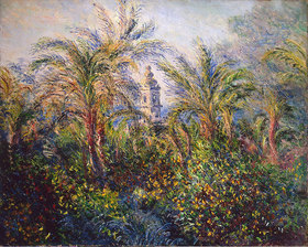Claude Monet: Garten in Bordighera, Impression am Morgen