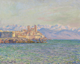 Claude Monet: Antibes, Le Fort