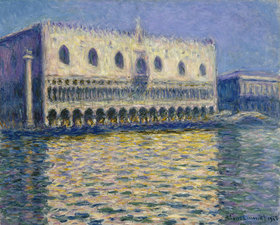 Claude Monet: Dogenpalast in Venedig