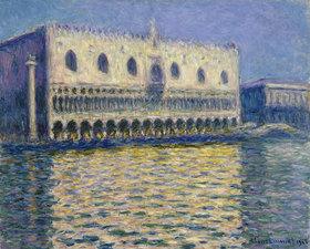 Claude Monet: Dogenpalast in Venedig