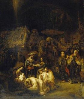 Gerbrand van den Eeckhout: Die Anbetung der Könige