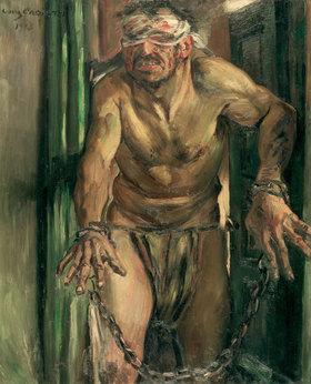 Lovis Corinth: Der geblendete Simson