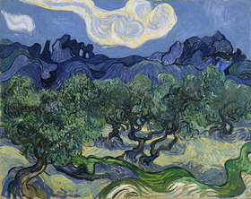 Vincent van Gogh: Olivenbäume