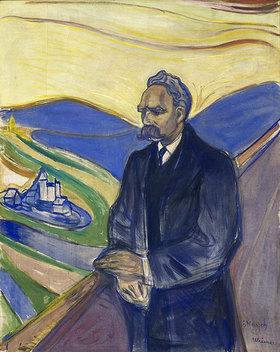 Edvard Munch: Porträt Friedrich Nietzsche