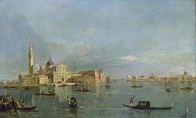 Francesco Guardi: Bacino di San Marco mit Blick auf San Giorgio Maggiore, Venedig