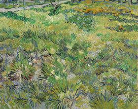 Vincent van Gogh: Langes Gras mit Schmetterlingen