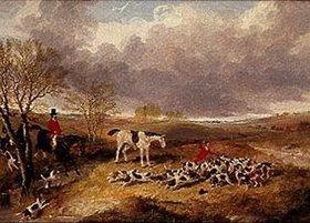 John Frederick Herring d.J.: Ende einer Hetzjagd in Cambridgeshire
