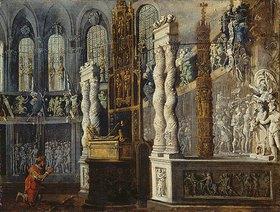 François de (Monsù Desiderio) Nomé: David im Tempel