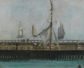 Edouard Manet: Pier von Boulogne-sur-Mer