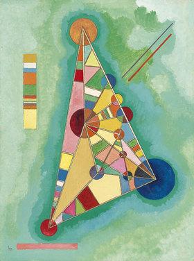 Wassily Kandinsky: Bunt im Dreieck