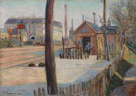 Paul Signac: Eisenbahnknoten in der Nähe von Bois-Colombes