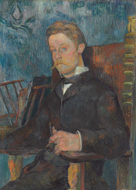 Paul Gauguin: Portrait eines Mannes