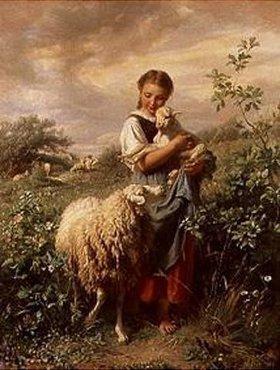 Johann Baptist Hofner: Die kleine Schäferin