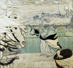 Louis Anquetin: Der Windstoß auf der Seinebrücke