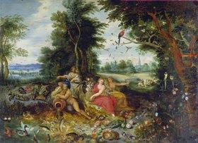 Jan van Kessel: Die vier Elemente