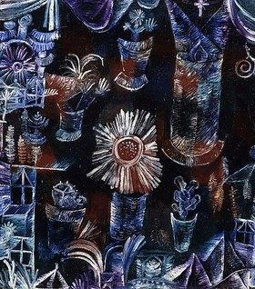 Paul Klee: Stilleben mit der Distelblüte