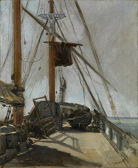 Edouard Manet: Schiffsdeck