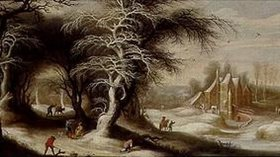 Gysbrecht Lytens: Winterliche Waldlandschaft