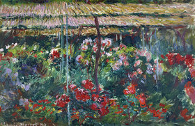 Claude Monet: Pfingstrosengarten