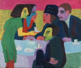 Ernst Ludwig Kirchner: Szene im Café