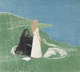 Edvard Munch: Frauen am Meeresufer